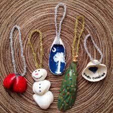 seashell christmas ornaments craft ideas pinterest seashell