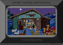 where did that come from u2013 first ever christmas treethe simpsons