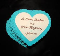 wedding quotes new beginnings a sweet ending to a new beginning candy buffet favor boxes