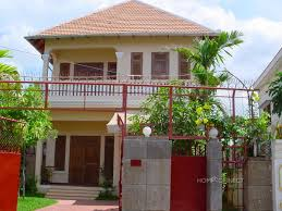 french colonial villa with 3 bedrooms near aeon mall phnom penh