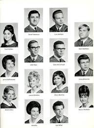 class yearbook fe high school class of 1967 yearbook graduation pictures