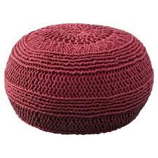 Ottoman Knitted Knitted Ottoman Wayfair
