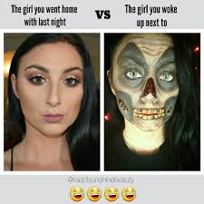Funny Make Up Memes - funny makeup meme tales from the crypt makep halloween
