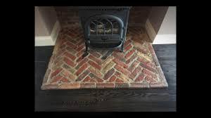 brick fireplace restoration youtube