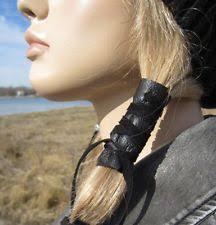boho hair wrap leather hair wrap ebay