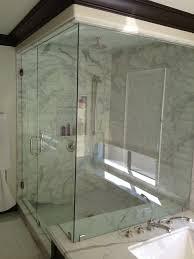 Frameless Steam Shower Doors Frameless Shower Door Installation In Hermosa Ca