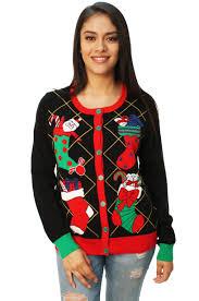 light up ugly christmas sweater dress ugly christmas sweater women s stuffed stocking cardigan sweater