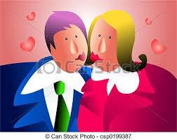 baise au bureau bureau baiser partage baiser illustrations de stock