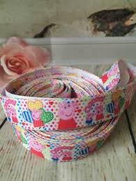peppa pig ribbon peppa pig pacifier by princesas2 on etsy peppa pig