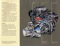 1989 honda accord engine mike s 1989 accord page original brochures