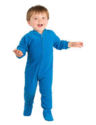 royal blue infant fleece footed pjs infant pajamas one