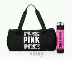 pink victoria secret black friday sales victorias secret pink duffle bag u0026 water bottle pink friday gym