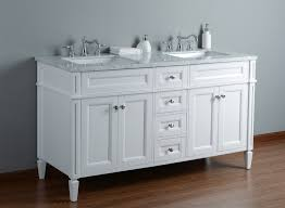 stufurhome anastasia french 60 inches white double sink bathroom
