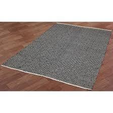 black jute diamonds 8 u0027x10 u0027 flat weave rug overstock shopping