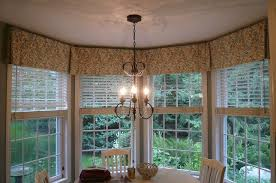 Valances For Kitchen Windows Ideas Bay Window Valances U2013 London Shade Detail Just Enough To Add The