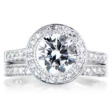 Engagement Wedding Ring Sets by Nyeasia U0027s Round Cut Cz Wedding Ring Set