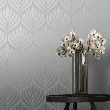 shimmer desire wallpaper teal silver 50041 from henderson