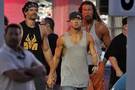 magic mike xxl behind the magic mike xxl set pictures popsugar entertainment
