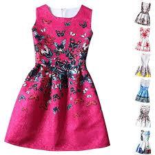 dress pattern brands kids clothes girls 2018 new brand designer girl princess dress