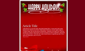 christmas html email template 2017 business template