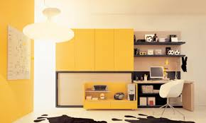 Yellow Room Interior Design Teen Room Study With Concept Image 40090 Fujizaki