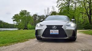 lexus gs 350 or is350 2017 lexus is350 f sport rwd road test review performance