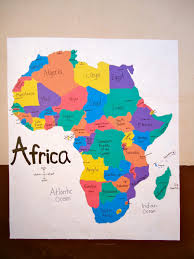 Africa On The Map by Map Of South Africa From High Tops To Crocs