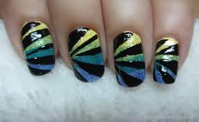 real asian beauty easy nail art using scotch tape