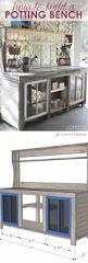 home styles furniture bali hai natural teak potting bench home styles furniture carts