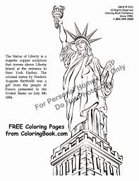 statue of liberty coloring pages getcoloringpages com