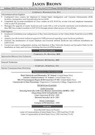 It Security Resume Examples by Unix Systems Administrator Resume Within Manager Of Network