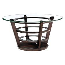 Glass Round Coffee Table by Exude An Aura Of Magnificence With Circle Glass Coffee Table