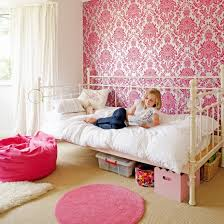 pink wallpaper for walls a chic feature wall in hot pink damask wallpaper is a great way to