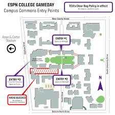 college gameday info link via tcu killerfrogs com lowering