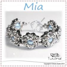 bead tutorials crystal bracelet images Beaded crystal bracelet tutorial mia viki 39 s beading jpg