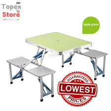aluminum portable picnic table outdoor aluminum portable folding su end 11 8 2018 7 15 pm