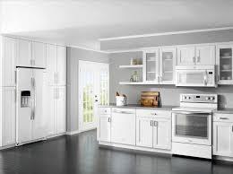 White Designer Kitchens Countertops Backsplash And Simple Minimalist Modern Design