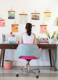 how to decorate a desk 9 vibrant ways to decorate your desk self