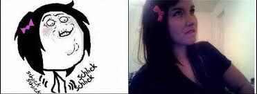 Shlick Meme - faces by a girl 33 pics