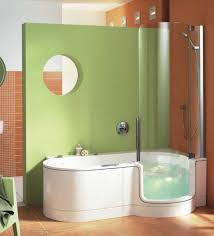 small tub small shower bath combo walk in tub shower combo