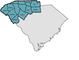 county map of sc local government region 1 sc gov