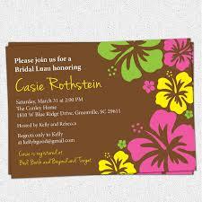 hawaiian print baby shower invitations baby shower decoration