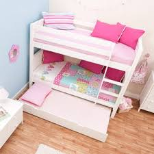 Stompa Bunk Beds Uk Stompa Classic White Bunk Bed With Trundle Bed Co Uk