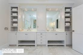 built in bathroom mirror appealing built in bathroom cabinet ideas cabinets best