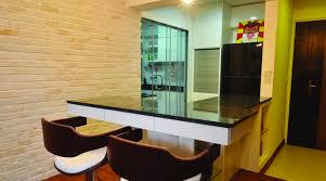 bar aico dining room set modern microfiber sofa michael amini