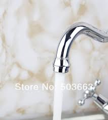 newly swivel chrome brass kitchen faucet spout vessel basin sink
