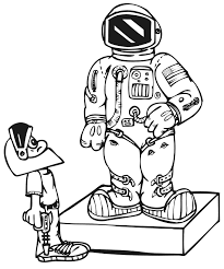 astronaut coloring page astronaut coloring page astronaut suit in museum