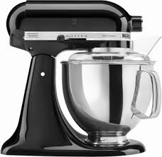 all black kitchenaid mixer kitchenaid ksm150psob artisan series tilt head stand mixer black