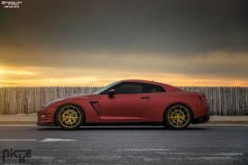 nissan gtr matte black gold rims nissan gt r niche misano h61 wheels brushed matte gold tint