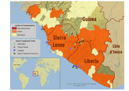 africa map 2014 2014 ebola outbreak in west africa outbreak distribution map